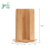 4 Compartment Rotatable Bamboo Cup Holder Organizer