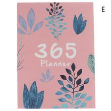 Горячая планировщик Органайзер A4 блокнот и Журнал DIY 365 дней план записная книжка Kawaii ежемесячный недельный график записная книжка(Китай)