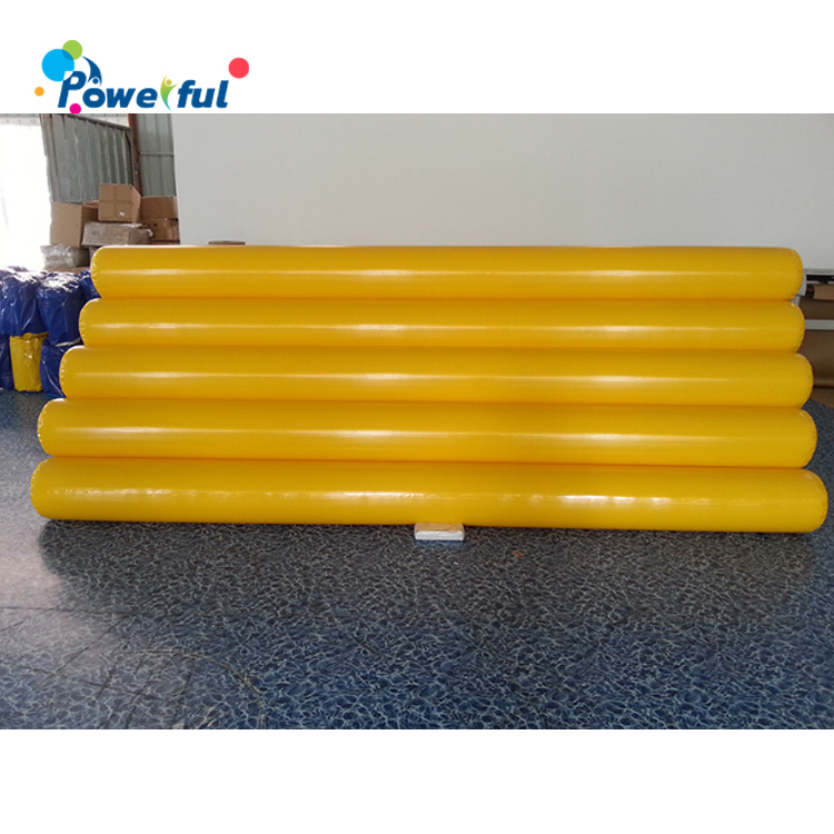 Water sport club inflatable pvc water pipe for swimming pool
