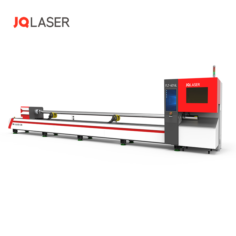 JQ <strong>Laser</strong> 6016L <strong>laser</strong> tube/pipe <strong>laser</strong> cutting machine with shortest tailing