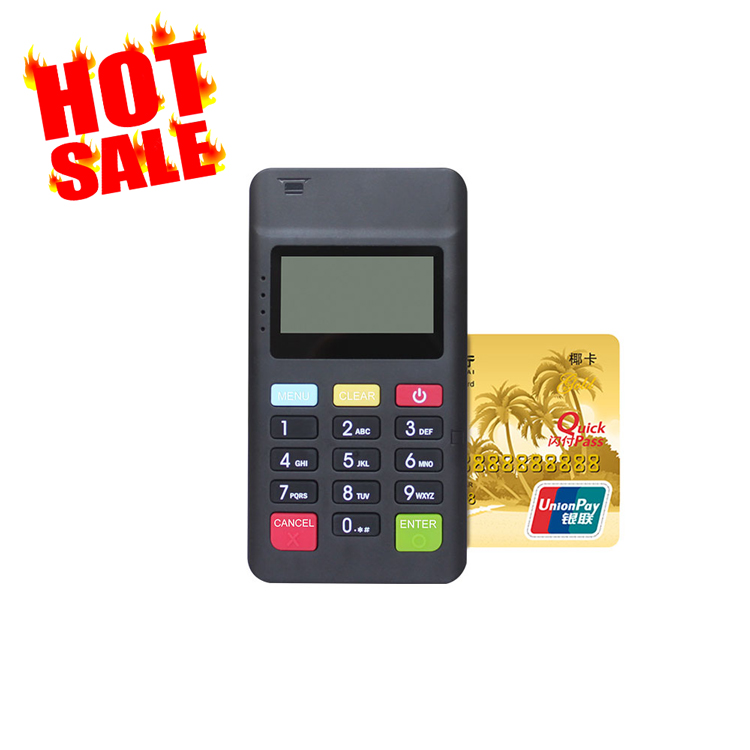 EMV Magnetic  card reader NFC mpos handheld Mini smart mobile payment terminal