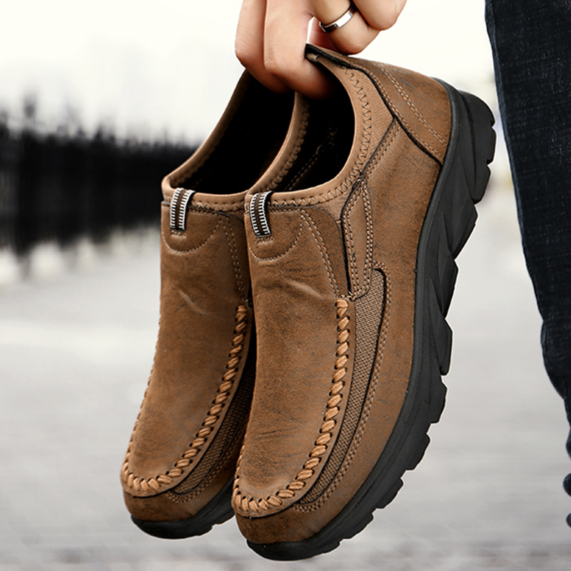 China suppliers footwear fashion casual leather loafer <strong>shoes</strong> <strong>men</strong>