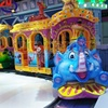 Kids amusement park track train for sale outdoor amusement rides funny children games