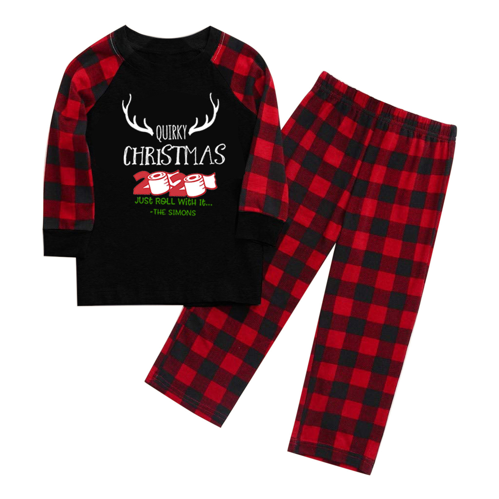 2020 Christmas Pajamas suits for Family