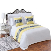 100 cotton 5 star hotel bedsheet for hotel,bed sheet 100% cotton for home, 5 star hotel motel bed sheet in Guangzhou