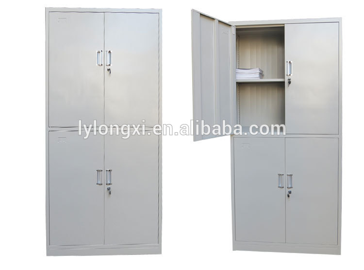 Accept Oem Excellent Quality File Cabinet Assembled Sheet Filing Workshop Steel Luggage Storage 3 Door Metal Cabinets