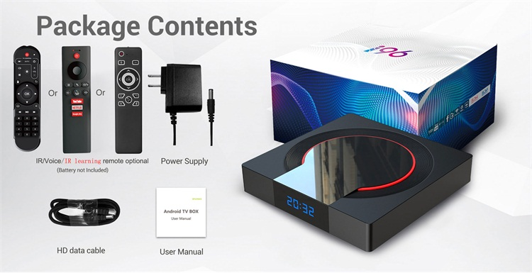 Topleo new generation i96 Pro Amlogic S905X3 4GB 32GB support 8K video play smart tv box