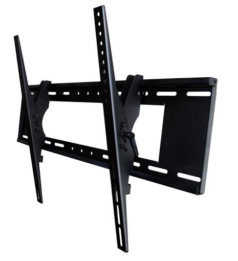 Carrinhos da TEVÊ de Baixo perfil led lcd TV de montagem na parede de inclinação para cima e para baixo nível de bolha suporte fixado na parede