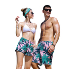 Quick Dry Breathable Polyester Mans Swim Trunks