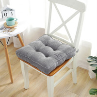 High Quality Chair Pad Seat Cushion, Square Chair Pad Cover with Ties, Chair Pad Home Decorative Cushion