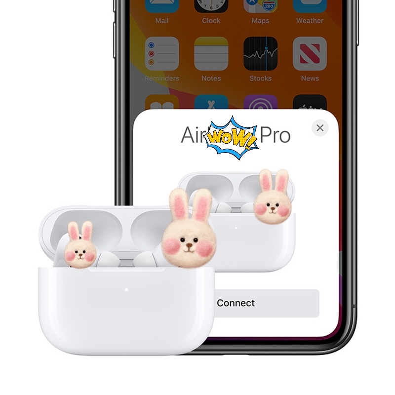 AP3 2020 New Earphone Air Pro With GPS/ Name Change Deep Bass BT5.0 Touch 1:1 Popup Animation i500 i9000 tws