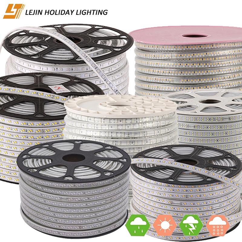 Indoor/outdoor 12V-220V cheap waterproof strip led light for bedroom