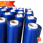 sexy blue super clear pvc packing film roll arab film for Commercial pvc white tent