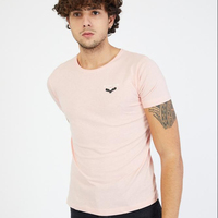 Black One Apparel Wholesale Men Clothing Blank High Quality Longline Tall Men's Cotton t shirts