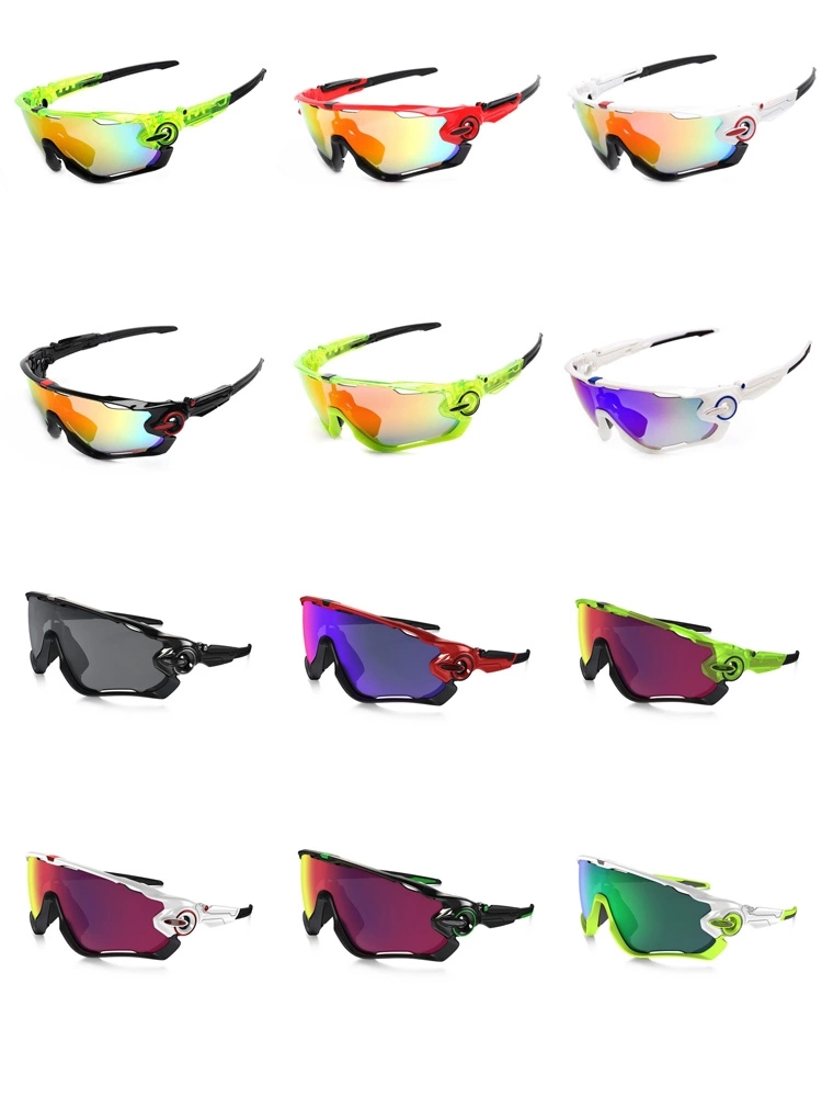 Ptsports Polarized Cycling Sun Glasses Outdoor Sports Bicycle Glasses Bike Sunglasses TR90 Goggles Eyewear