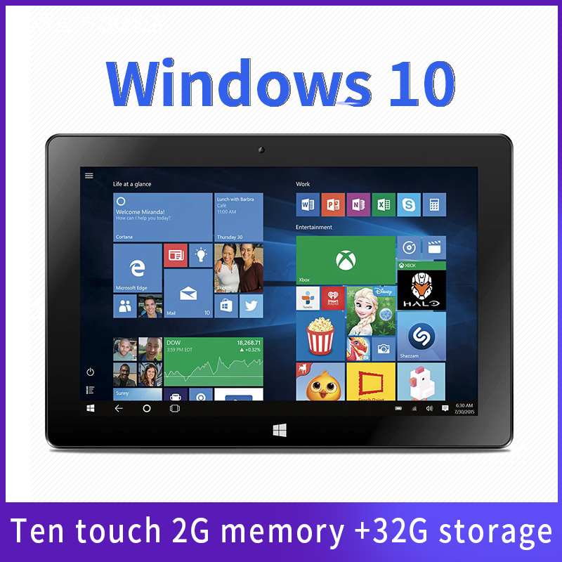 10.1 inch win10 laptop dual camera 2+32GB 2 in 1 Tablet + laptop PC mini pc Notebook