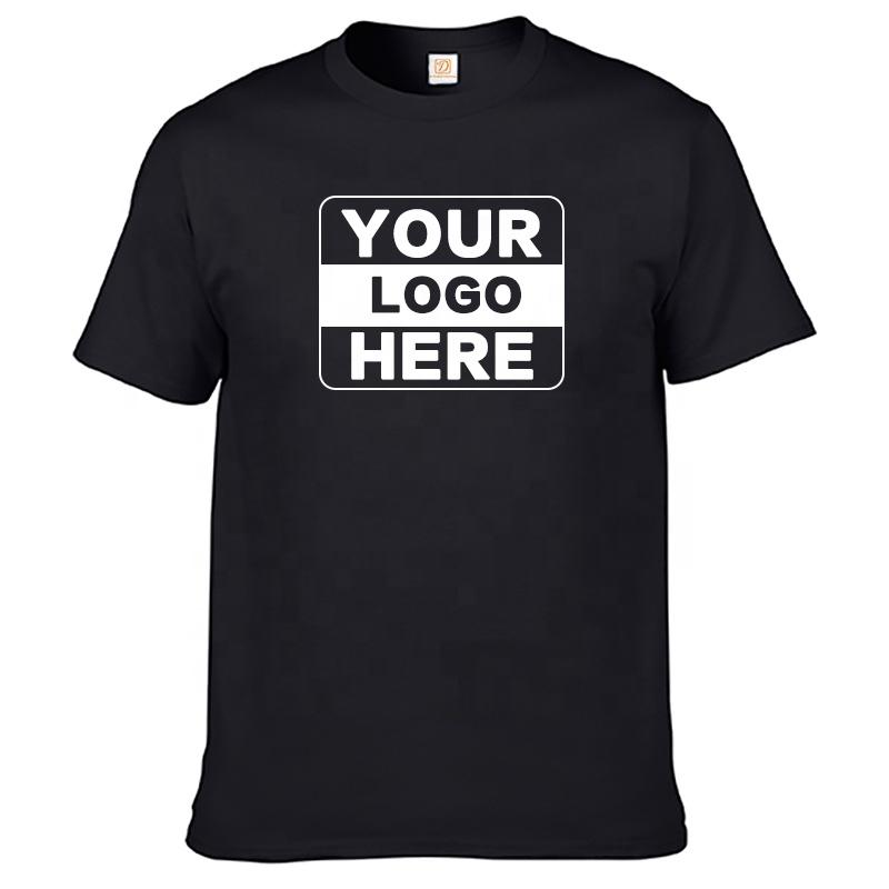 High quality 100% cotton men t-shirt wholesale custom t shirt printing, Multi colors
