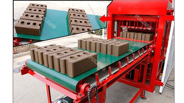 4 Pieces Automatic Electric Hydraulic Earth Mud Clay Interlocking Interlock Block Brick Making Machine For Sale