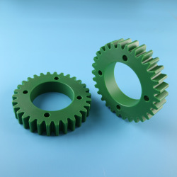 CNC machining nylon sprocket gear