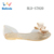 Wholesale Women Flat Sandals PVC Jelly Shoes With Bowknot