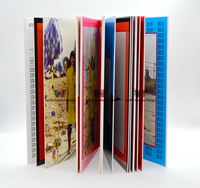 H Printed and processed cardboard book for children aged 0-12