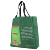 Cotton rope handle plastic shopping bag