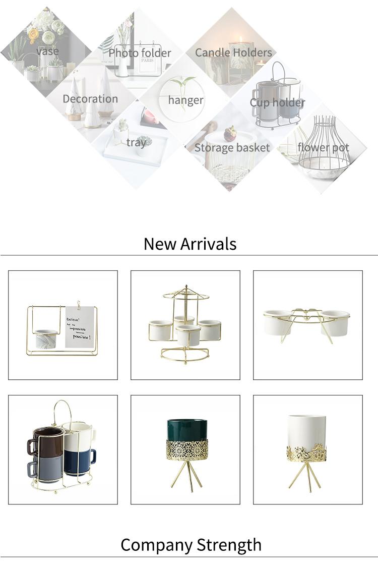 Vase à fleurs en céramique artisanale et moderne, décoration de maison, nouveau produit, 2020
