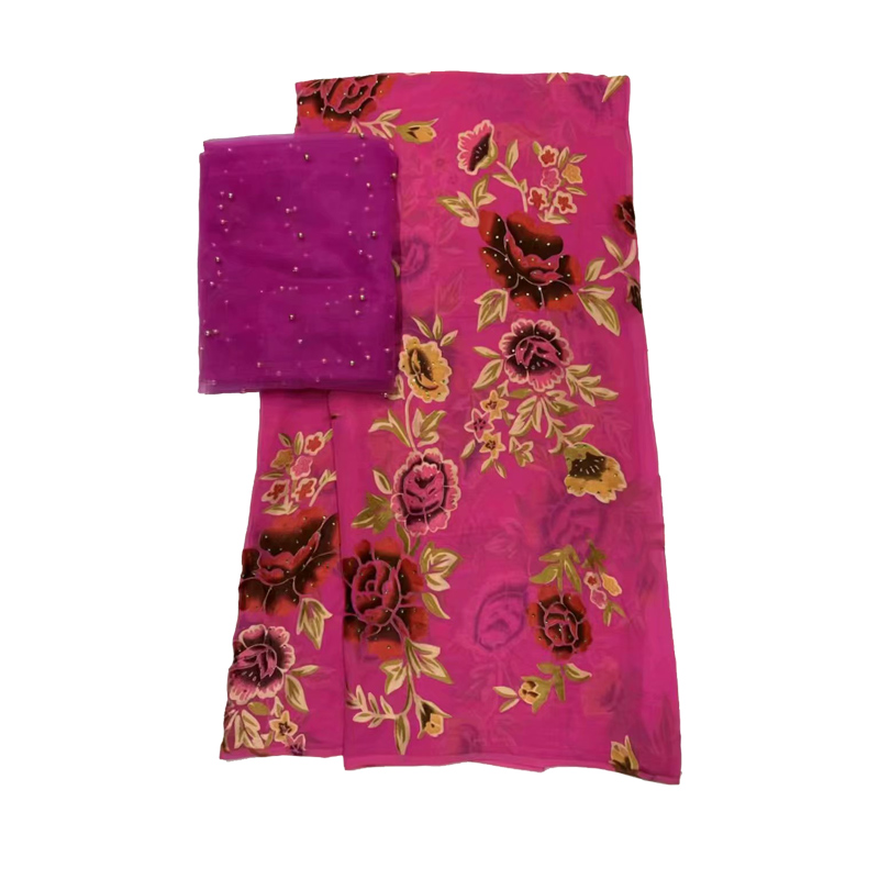 high quality india and african silk george lace for under wrapper  XB8200322