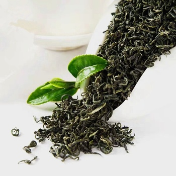 ZSL-GA-002 M Popular Chosen Tasted Fragrant Green Tea Loose fines herbs foods