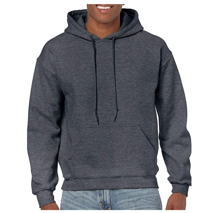 2019 Factory Hot Sales Men's Heavy Blend Fleece Hooded Sweatshirt