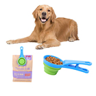 Eco Friendly Travel Foldable Collapsible Portable Pet Dog Food Bowl