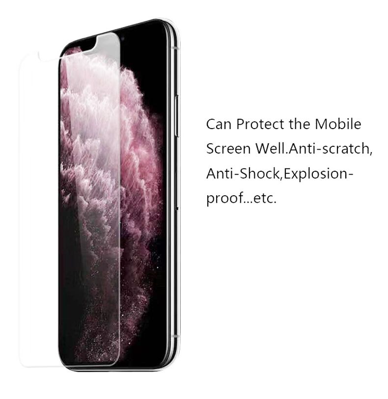 Großhandel 2,5 D Screen Protector Für Apple iPhone 11 X/XS/6/7/8 Plus Handy 9H Transparent Gehärtetem Glas Screen Protector