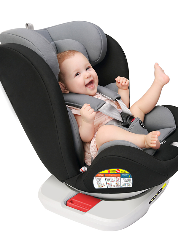 Ece 0-36Kgs 360 Degree Rotate Hdpe Premium Quality All In One Baby Car Seat