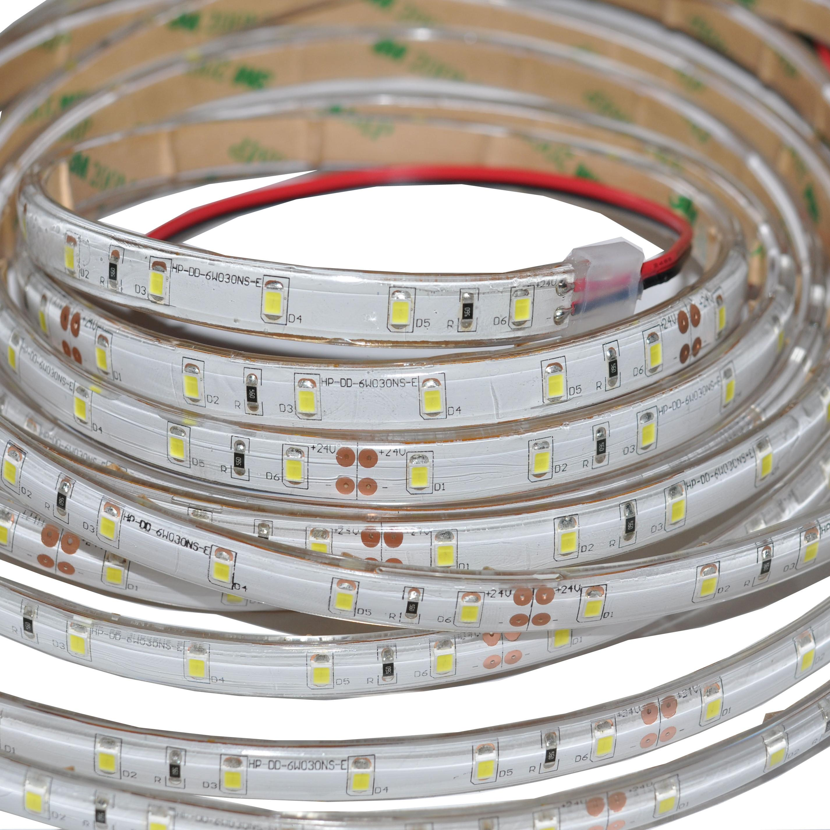 2835 30lled/m led strip 300led/5m 12V Flexible Light 3000k