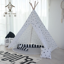 Tipi Indische Zelte <span class=keywords><strong>Kinder</strong></span> <span class=keywords><strong>Kinder</strong></span> Tuch Tipi/Powwow Lodge Runde Tür Tipi/<span class=keywords><strong>Kinder</strong></span> Spielen Spielzeug Outdoor <span class=keywords><strong>Indoor</strong></span> <span class=keywords><strong>Zelt</strong></span> tipi