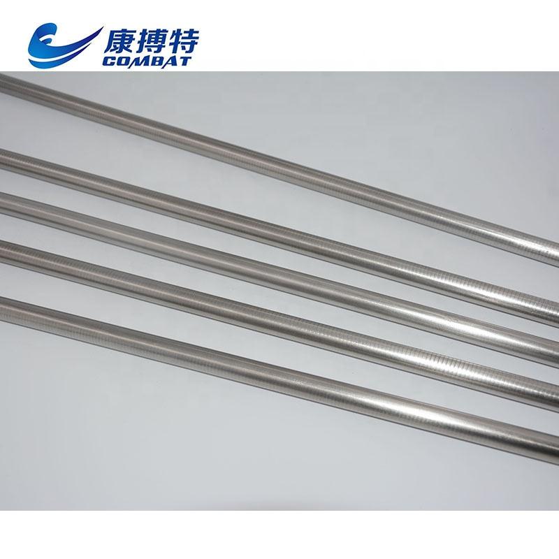 99.95/% Tungsten Tungsten Tungsten Rod Rod Rod Round Bar Ø10mm 50mm Silver
