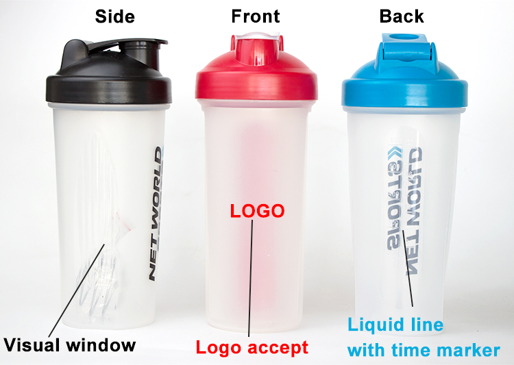 new 2019 special power logo bottle proteine mixer shaker bottle