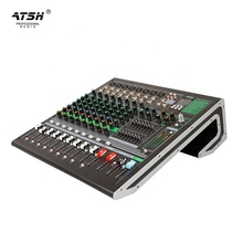 Atsh Werden-10 Mixer Professionelle Live <span class=keywords><strong>Audio</strong></span> Konsole Video DJ DSP Digital Sound Mixer