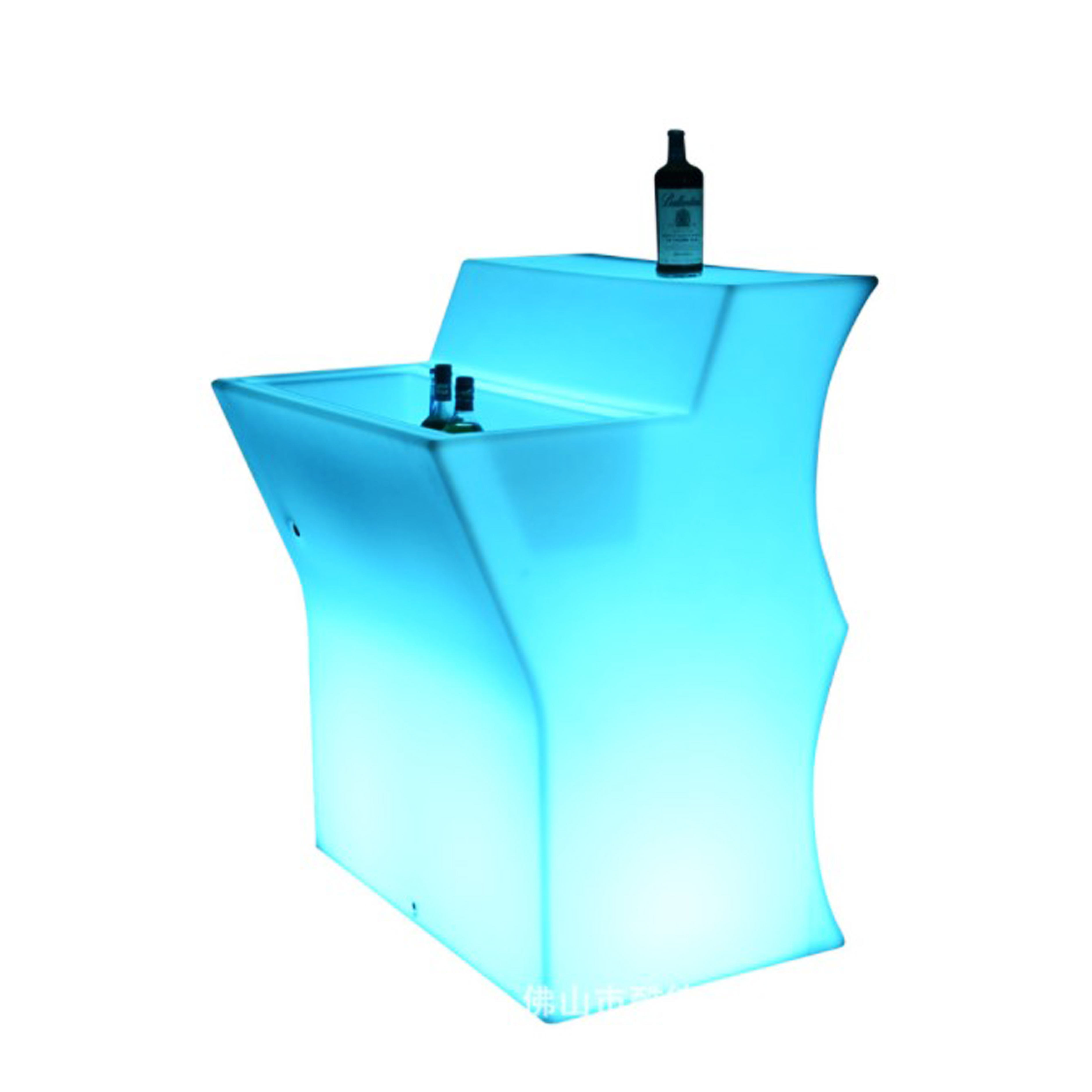 Glow Mobile Portable Cocktail Table <strong>Bar</strong> Counter LED