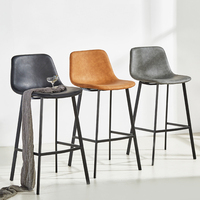 Retro Modern High Chair For Bar Table