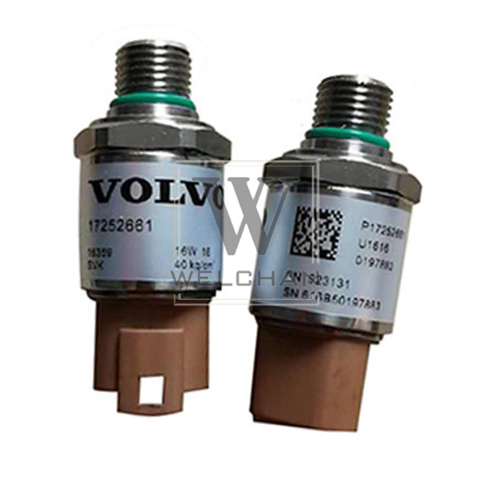 High Pressure Sensor 14560160 VOE14560160 For Volvo EC140 EC210 EC240 Excavator
