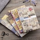 A5 Customize Kraft Paper Printing Stationery Diary Notebook Hardcover