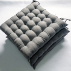 Pillow Perfect Cotton Chair Pads with Ties/Seat Cushion
