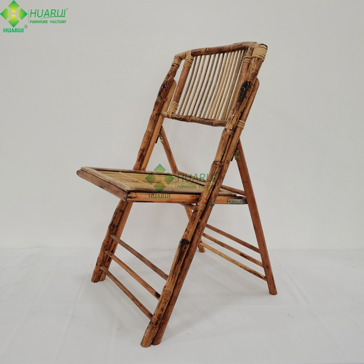 Outdoor used wood Bamboo Folding Chairs