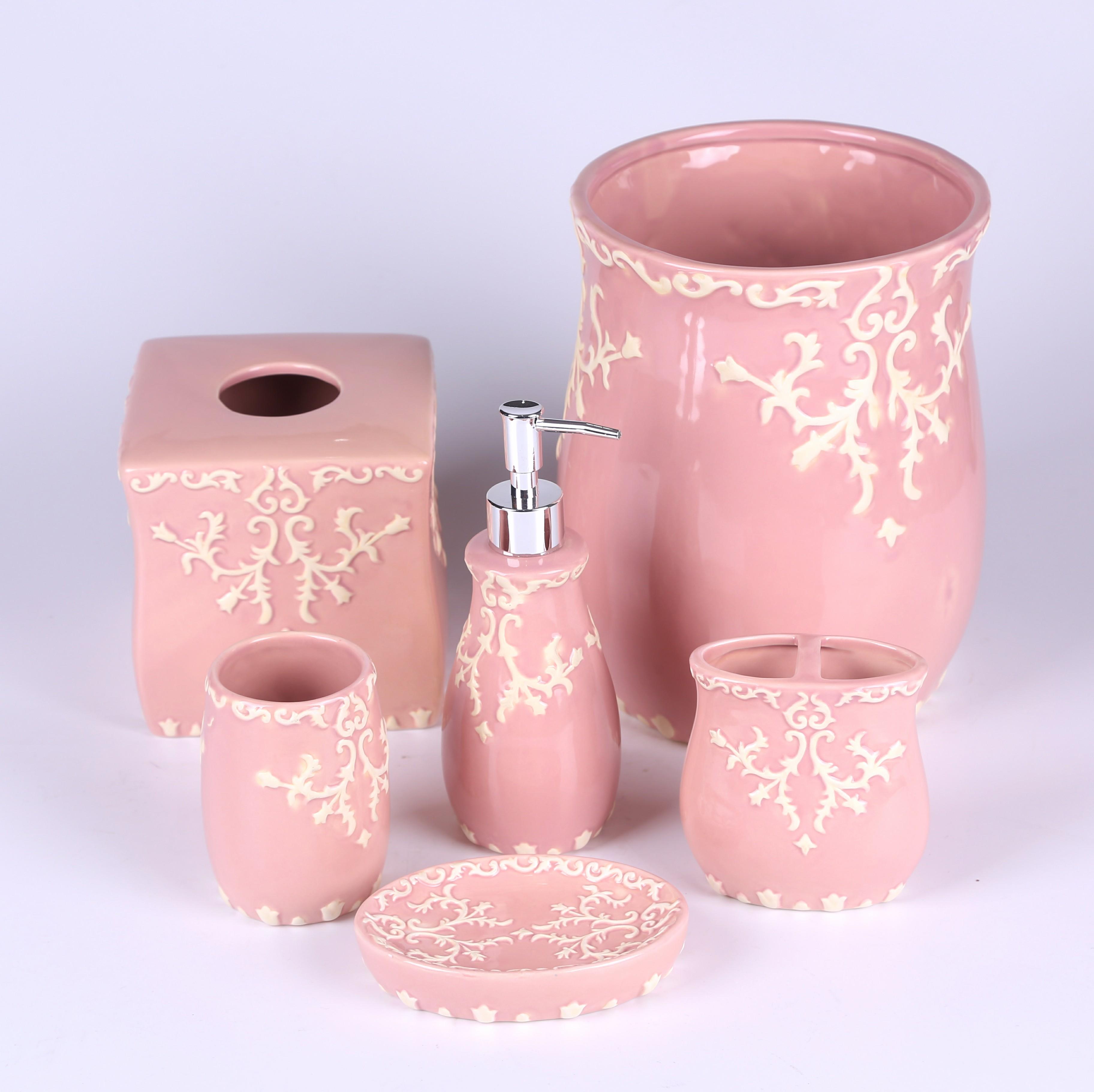 Großhandel bad accessoires pink Kaufen Sie die besten bad ...