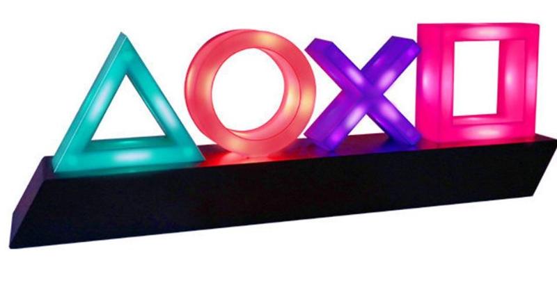 Ícone do jogo de Luz de Controle de Voz Luz de Néon Acrílico KTV Atmosfera de Luz Pode Ser Escurecido USB Bar Decoração Lampara Para PS4