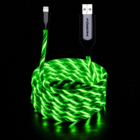 China manufacturers high-quality sample free fast charger cable car colorful atmosphere night light led usb cable