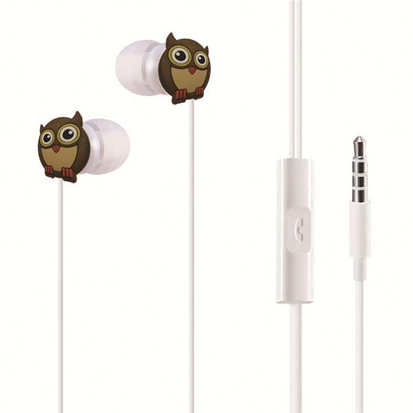 Popular earphone with cartoon animal fruit design student earphone kids earphones - idealBuds Earphone | idealBuds.net