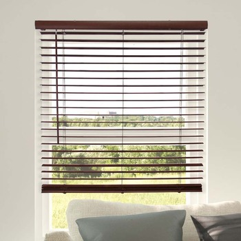 office window curtains and blinds basswood ladder string wooden venetian blinds