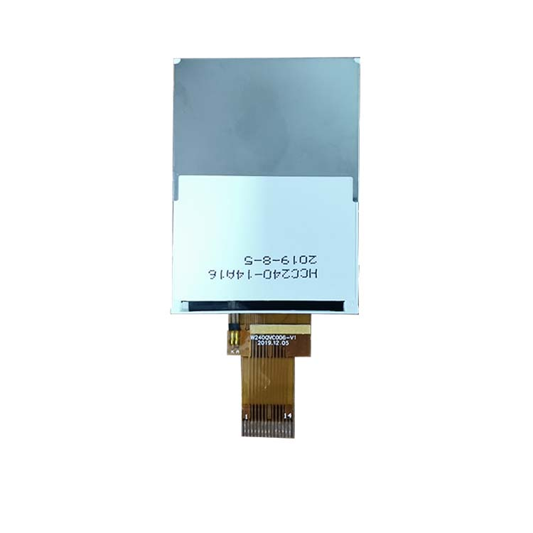 New product 2.4 inch ips tft lcd display 240*320 with GC9306 IC  full direction lcd screen
